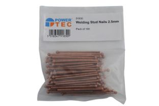 Power Tec 91830 2.5mm Nails 100 Pack